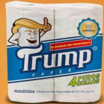 Mexique : une marque de papier toilette à l'effigie de Donald Trump