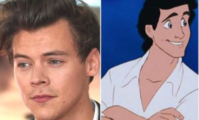 Harry Styles, le nouveau prince de la Petite Sirène