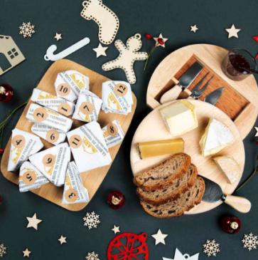 La boite du fromager, calendrier de l'Avent
