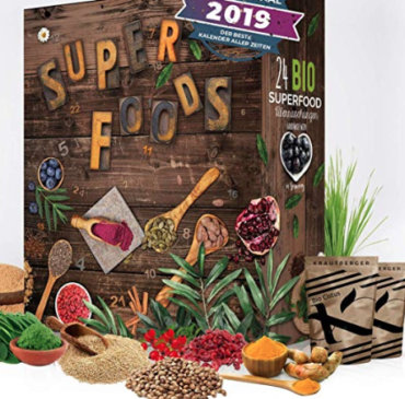 Super food calendrier de l'Avent