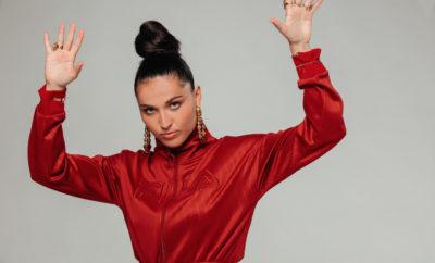 La chanteuse et rappeuse Camille Esteban